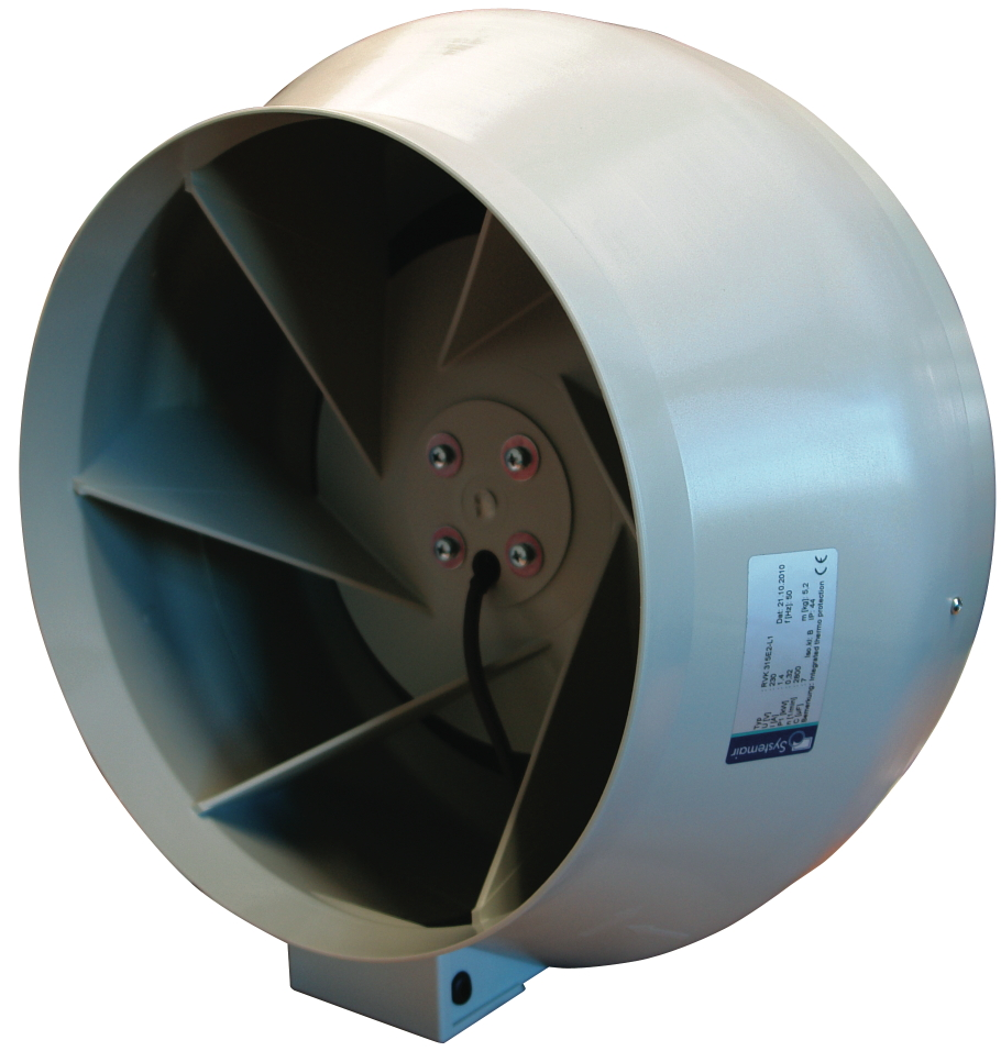 Systemair RVK in line turbo fan 315L1 - 1700m3/hr